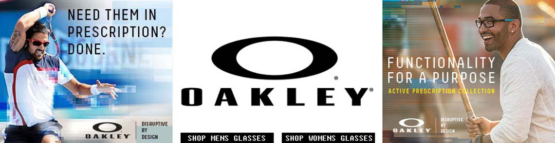 Oakley Disruptive By Design