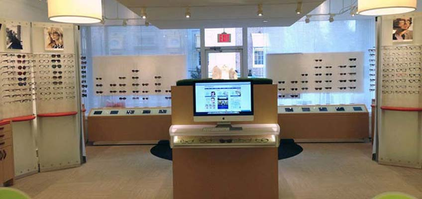 Eyeglasses.com Store, Westport CT - Back Center