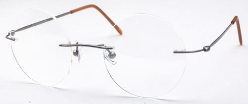Frameless Glasses Pics : ROUND FRAMELESS GLASSES - Eyeglasses Online