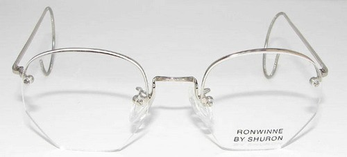 Rimless Eyeglass Frames With Cable Temples : Shuron Ronwinne Cable Temples Glasses - Eyeglasses.com