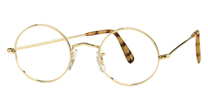 Berkshire Chase Savile Row Round Gold 14KT Glasses
