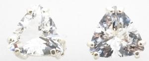 Casa Crystals & Jewelry Earings, 10mm Trilliant Crystals