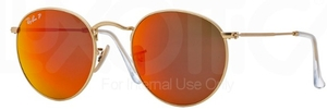 Ray Ban RB3447 Round Metal Glasses