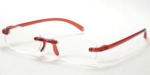 Casa Crystals & Jewelry CRG 1 Red Reading Glasses