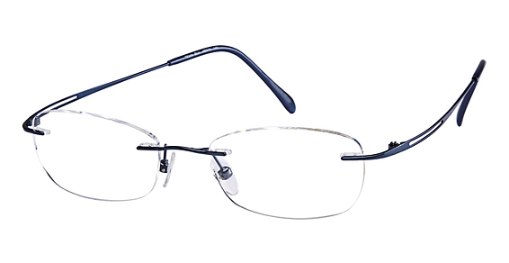 TE 504 Eyeglasses, Bue