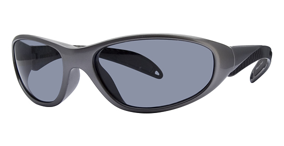 Biker Eyeglasses, Grey Carbon