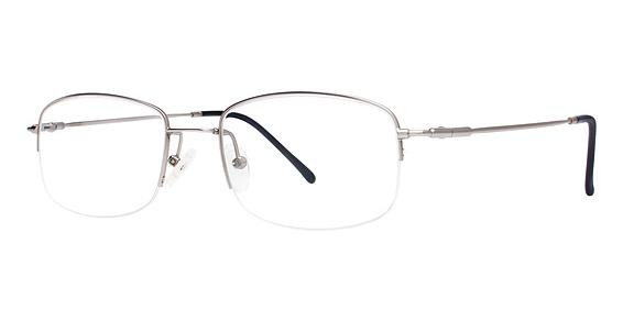MX 924 Eyeglasses, Satin Silver