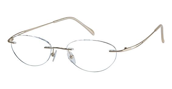 TE 500 Eyeglasses, Gold