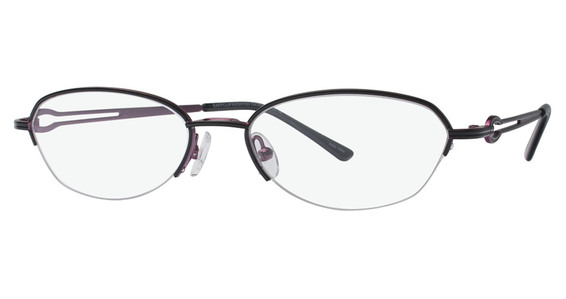 Image of P 6073 Eyeglasses, Matt Black & Violet