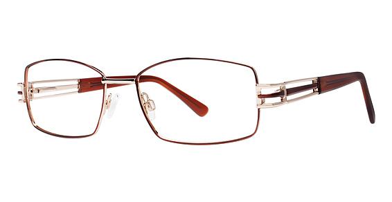 BIG Deal Eyeglasses, Brown/Gold