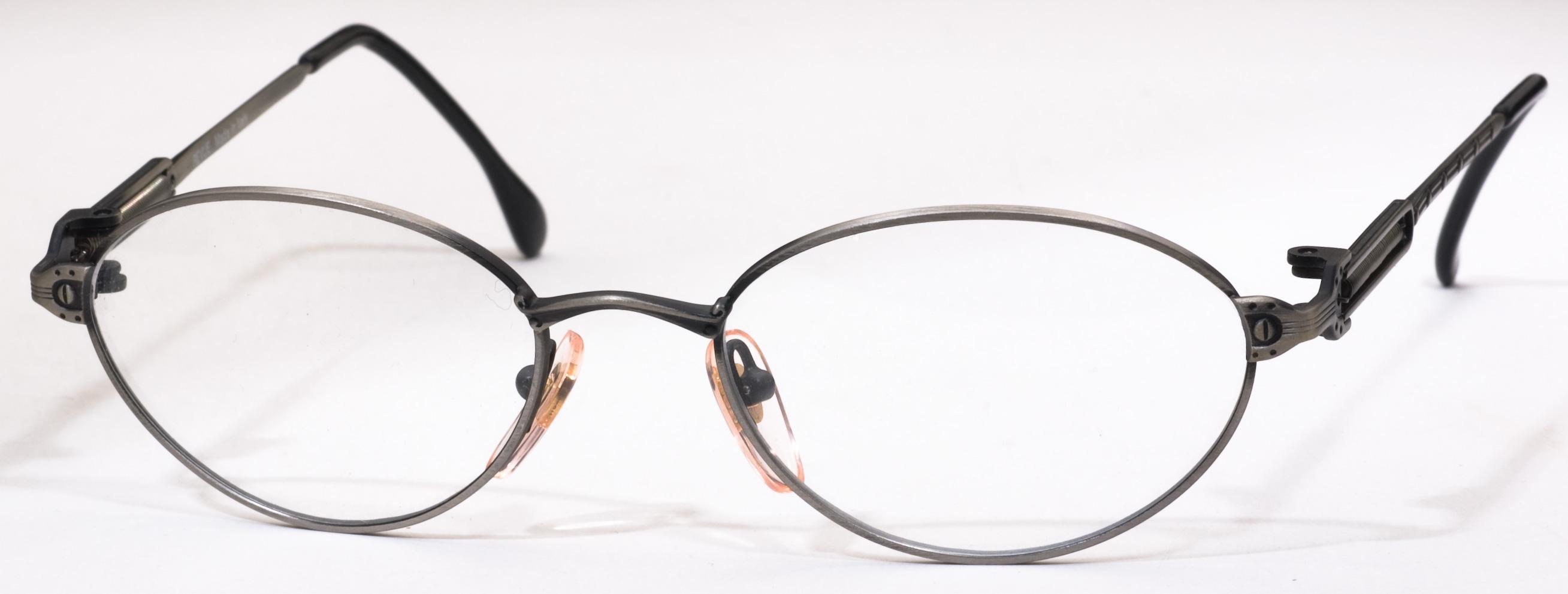 105 Eyeglasses, Satin Antique Brown