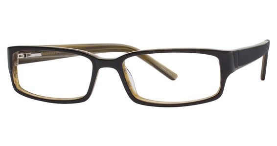 9306 Eyeglasses, Brown Horn
