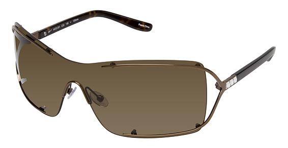 Image of 001 Sunglasses, SHINY BROWN W/CRYSTAL