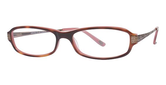 Image of Daisy Fuentes Annibel Eyeglasses, Tortoise Pink