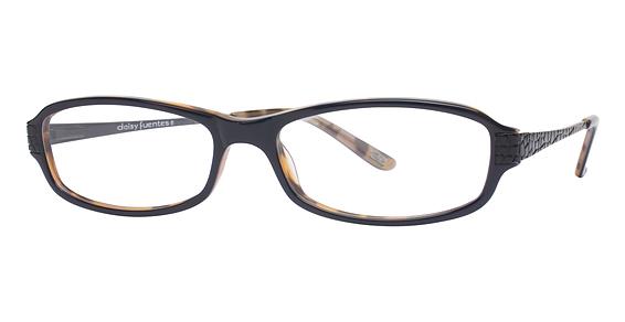 Image of Daisy Fuentes Annibel Eyeglasses, Blue Tortoise