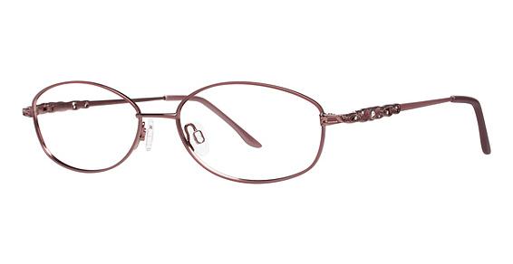 Lace Eyeglasses, Mauve/Brown