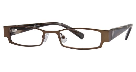 """EC 136 Eyeglasses, """"Violet/Violet,Mauve,Orange"""""""