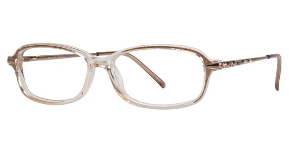 EC 146 Eyeglasses, CLEAR/SHINY LILAC
