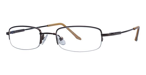 Image of RL 703 Eyeglasses, Brown