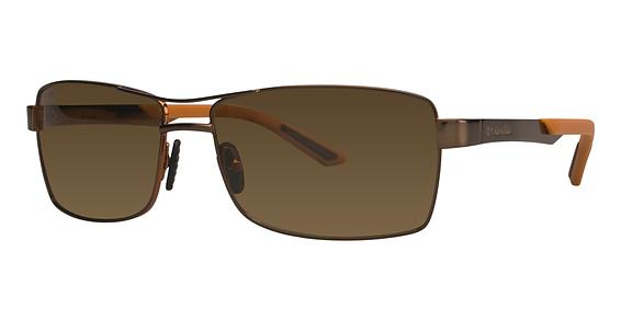 Sunglasses - Double Blaze Sunglasses; Shiny Brown/Cedar ...