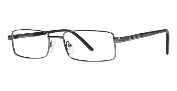Charles Eyeglasses, Matte Gunmetal