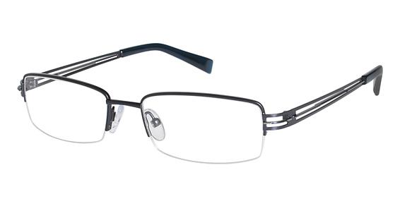 T 103 Eyeglasses, Satin Navy
