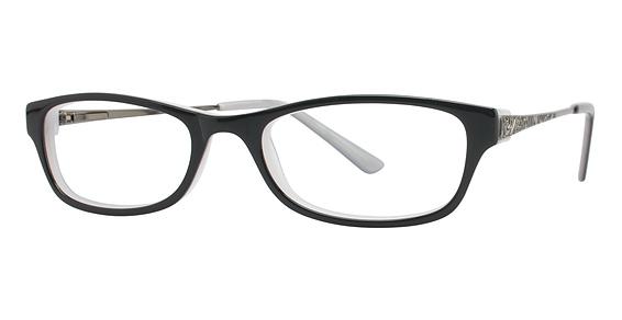 Image of Vision's 187 Eyeglasses, Ebony/Gunmetal