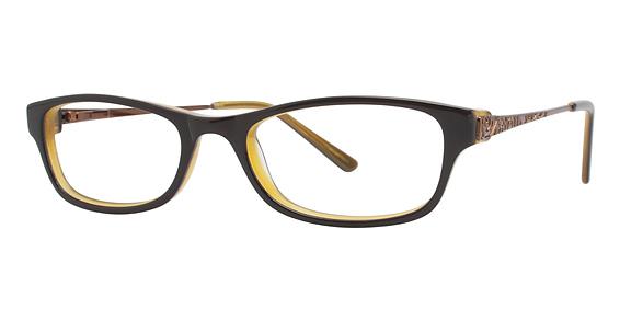 Image of Vision's 187 Eyeglasses, Brown/Bronze