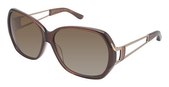 Image of 003P Sunglasses, BROWN GRADIENT POLARIZED