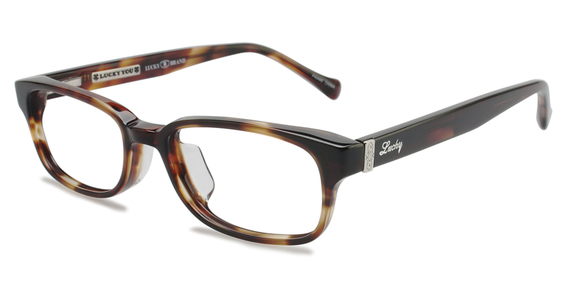 Lincoln Eyeglasses, Brown