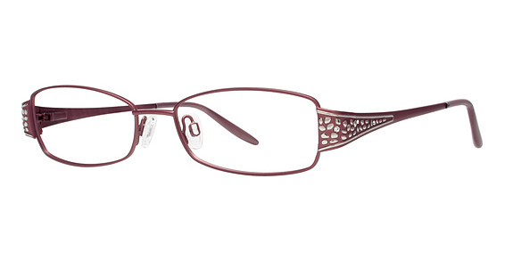 Luster Eyeglasses, Matte Mauve