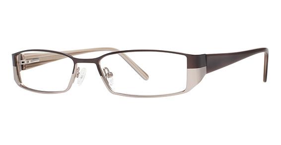 U 740 Eyeglasses, matte brown/light brown