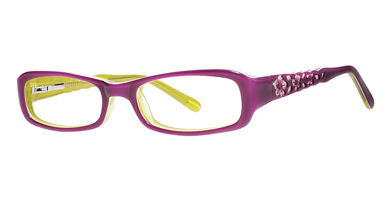 Lotus Eyeglasses, Fuchsia/Lime