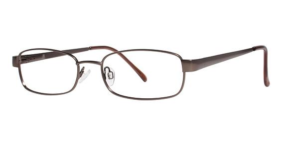 Groove Eyeglasses, Matte Brown