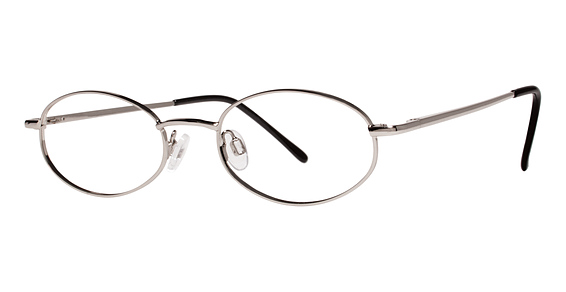 Dynamite Eyeglasses, Silver