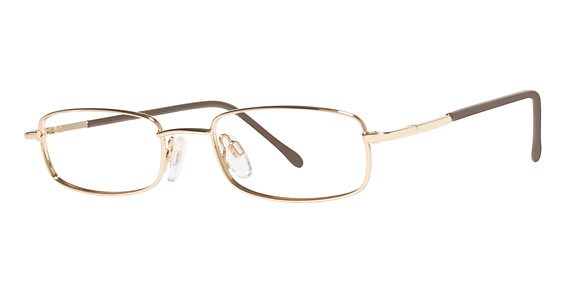 Gossip Eyeglasses, Gold