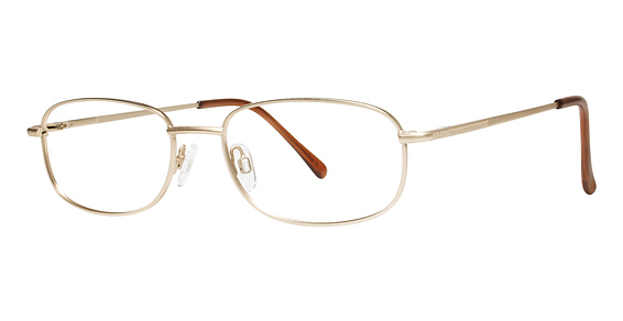 Icon Eyeglasses, Satin Gold