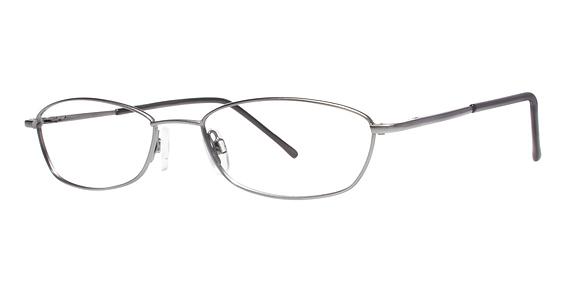 Kelly Eyeglasses, Matte Gunmetal