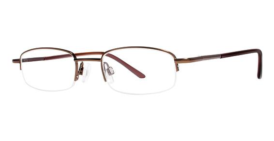 Leo Eyeglasses, Matte Brown