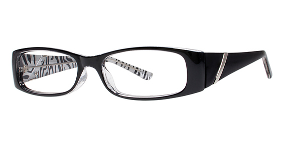 Tigress Eyeglasses, Black