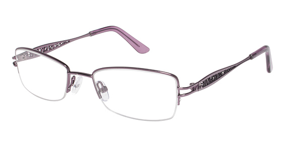 R 105 Eyeglasses, LIGHT PURPLE/PURPLE