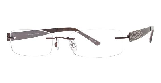 Invincilites Zeta B Eyeglasses, Mauve