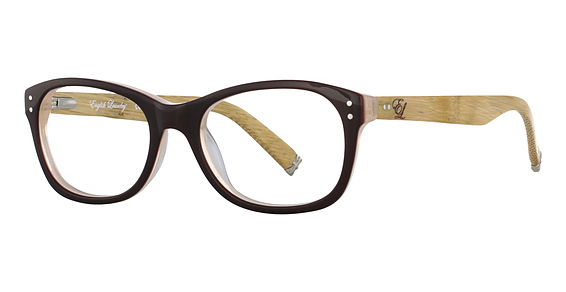 Factory Eyeglasses, Brown Bamboo