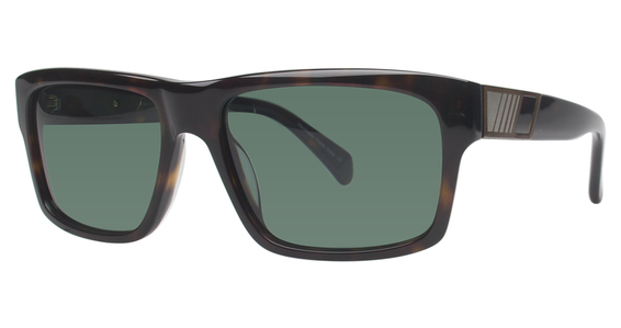 6603 Sunglasses, Brown Horn