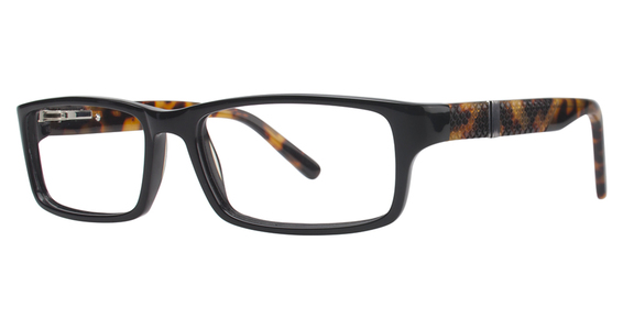 9322 Eyeglasses, Jet Black