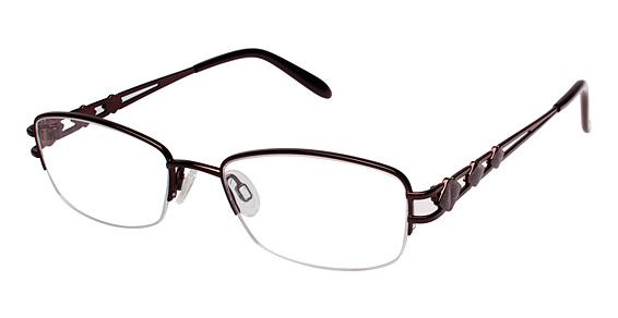 R 510 Eyeglasses, DK/Brown