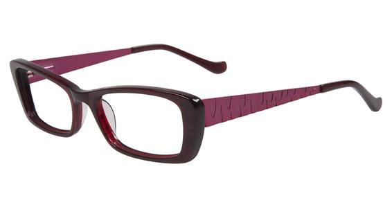 Rendezvous Eyeglasses, Burgundy