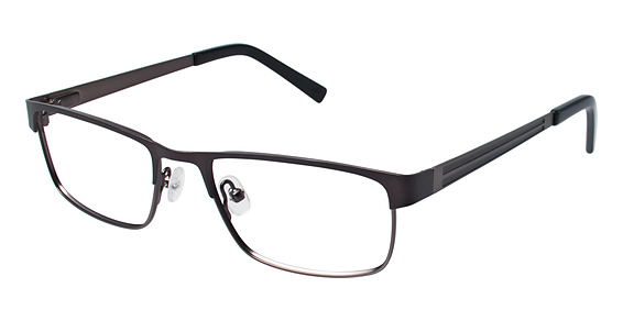 CT 10 Eyeglasses, Black/Gun