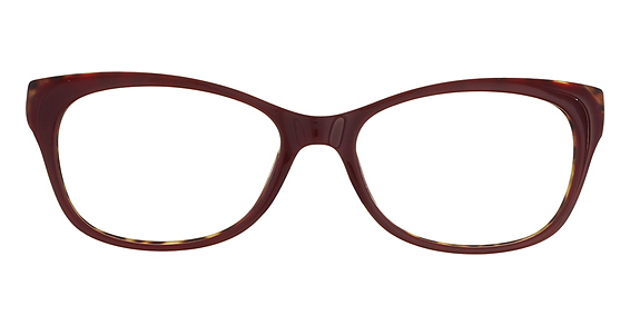 9290 Eyeglasses, Red/Leopard