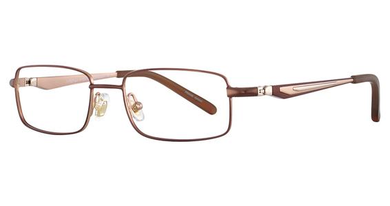 EC 308 Eyeglasses, StnNavy/Blk&Burg&Silver